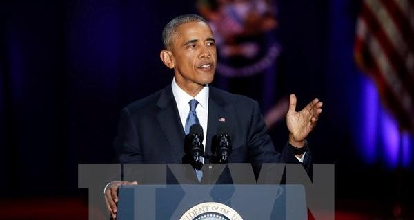 Tổng thống Mỹ Obama phát biểu về Israel trong bài phỏng vấn cuối cùng