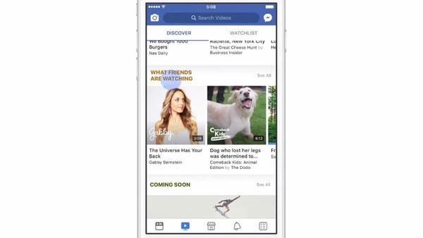 Facebook chính thức giới thiệu nền tảng video Watch tại Mỹ, chia 55% doanh thu quảng cáo cho người tạo nội dung, tuyên chiến với YouTube