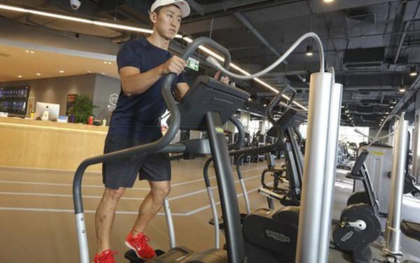 Phòng gym ở Trung Quốc phải lọc không khí và bơm thêm oxy để chống lại ô nhiễm