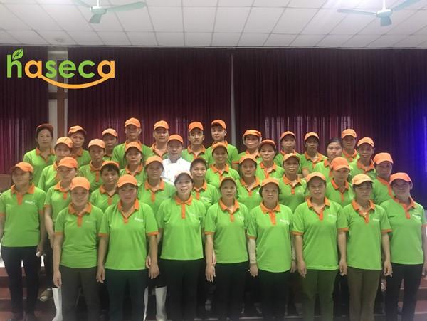 Haseca: 12 năm tận tâm với những suất ăn công nghiệp xanh, sạch
