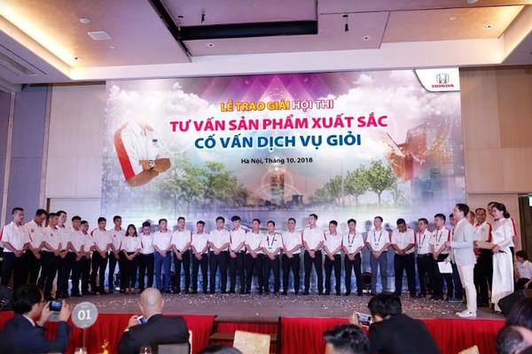 Sôi động cuộc thi Tư Vấn Sản Phẩm xuất sắc – Cố Vấn Dịch Vụ giỏi năm 2018 của Honda Việt Nam