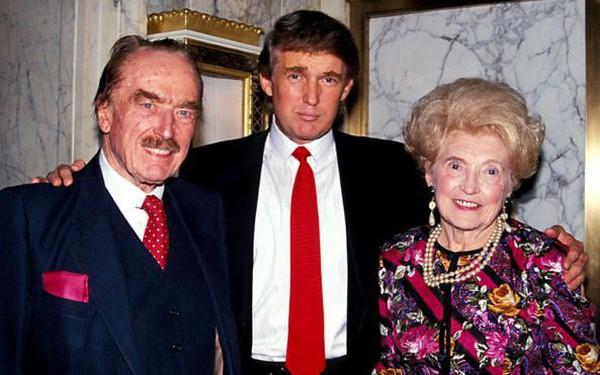 Gia phả bất ngờ của gia đình Tổng thống Donald Trump