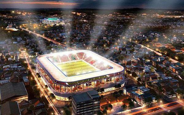Hơn 6.000 tỉ đồng xây mới sân vận động Hàng Đẫy giống sân bóng Ngoại hạng Anh