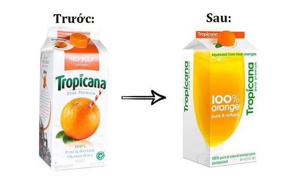 """Tropicana và thảm họa thiết kế: Thay cái vỏ hộp, tưởng sáng tạo hơn ai ngờ """"mất sạch"""" khách hàng và bay luôn 65 triệu USD"""