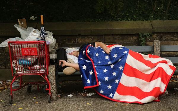 Những người vô gia cư dưới thời 'Nước Mỹ tuyệt vời' của Tổng thống Trump