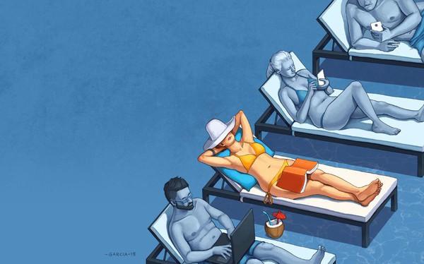 """Người thông minh tuyệt đối biết cách nghỉ ngơi: Bỏ mấy chục triệu đi nghỉ dưỡng mà vẫn thấy bức bách thì đúng là """"có lớn mà không có khôn""""!"""