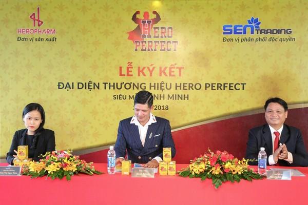 TPBVSK HERO PERFECT mà Siêu mẫu Bình Minh làm đại diện thương hiệu có gì mà giới đàn ông truyền tai nhau?