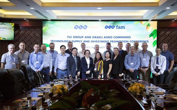 12 doanh nghiệp Israel tìm cơ hội đầu tư nông nghiệp với FLC