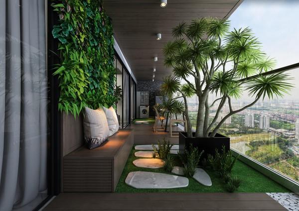 Khám phá căn hộ cao cấp sở hữu sân vườn riêng tại Hà Nội