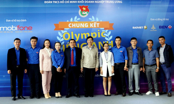 PV GAS đạt giải Cuộc thi Olympic Tiếng Anh Khối Doanh nghiệp TW