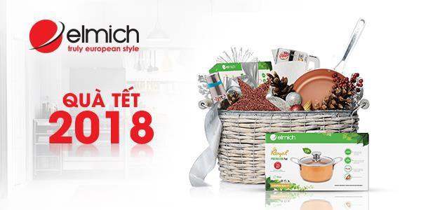 Xu hướng mới của Tết 2018: mua đồ gia dụng Elmich & Royal Elmich làm quà tặng