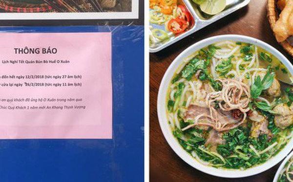 Hết Tết rồi mà vẫn còn nhiều quán xá nổi tiếng Hà Nội chưa mở cửa bán hàng trở lại