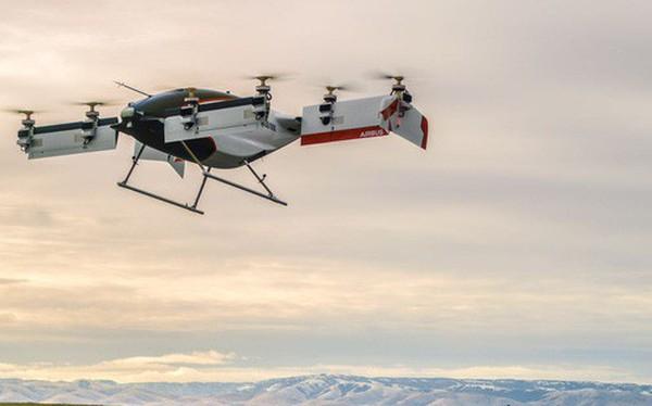 Taxi bay không người lái Airbus Vahana hoàn thành chuyến bay thử đầu tiên