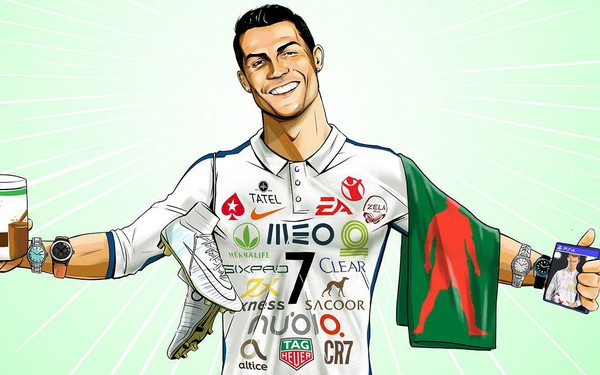 Cầu thủ bóng đá kiếm tiền từ thương hiệu cá nhân như thế nào?