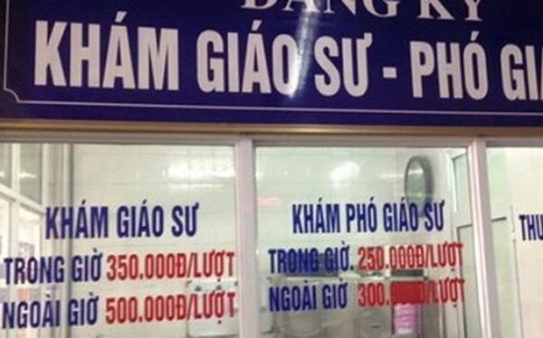 """Chấp nhận giá """"chát"""", người Việt thích đăng kí giáo sư, phó giáo sư khám bệnh"""