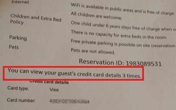 """Thông tin thẻ của khách hàng bị """"đánh cắp"""" như thế nào với các website đặt phòng nước ngoài?"""