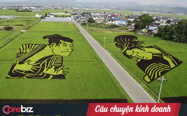 Làng thần kỳ Nhật Bản: Từ nghèo nhất đến nổi tiếng khắp cả nước, doanh số bán gạo tăng 400% nhờ biến ruộng lúa thành tranh