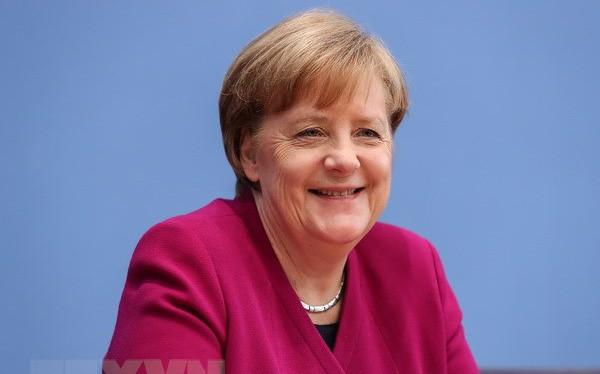 Bà Angela Merkel tái đắc cử Thủ tướng Đức nhiệm kỳ thứ 4