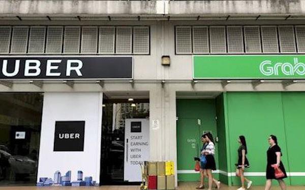 Singapore điều tra vụ Grab mua lại Uber Đông Nam Á