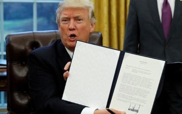 """Ông Trump: """"Chỉ quay lại TPP nếu có thỏa thuận tốt hơn cho Mỹ"""""""