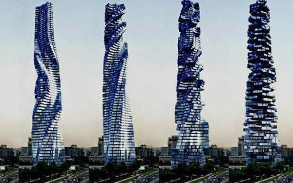 Dubai sắp có tòa cao ốc có khả năng tự xoay 360 độ đầu tiên trên thế giới