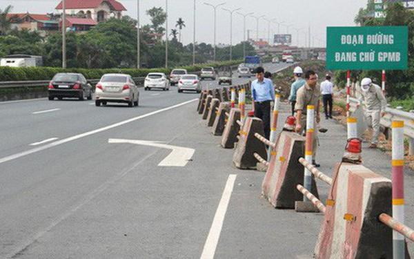 Cao tốc Pháp Vân - Cầu Giẽ vỡ tiến độ nghiêm trọng vì vướng mặt bằng