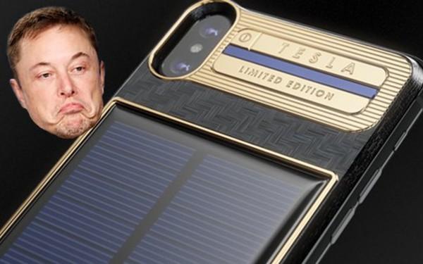 Chiếc iPhone X mạ vàng đắt nhất thế giới dành cho Elon Musk với kiểu dáng vô cùng kì quặc