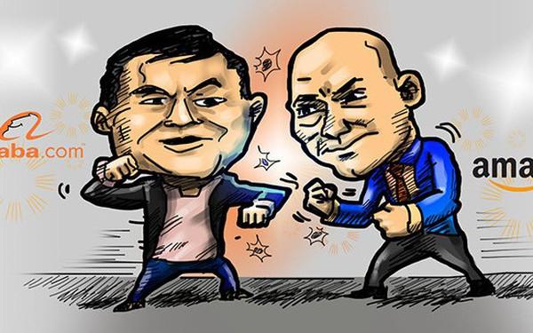 """Amazon """"so găng"""" với Alibaba ngay trên sân nhà Trung Quốc"""