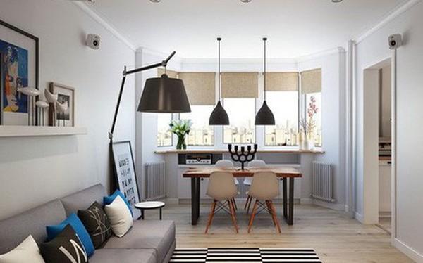 Thiết kế căn hộ sáng tạo theo phong cách Scandinavian