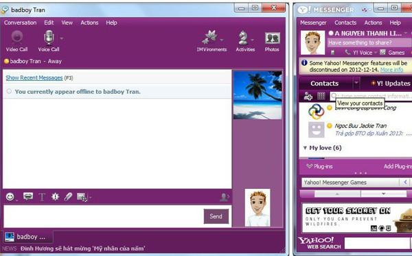 Yahoo Messenger sẽ ngừng hoạt động mãi mãi từ ngày 17/7