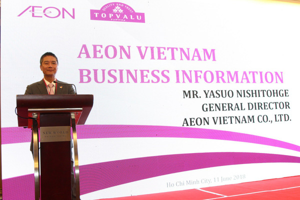 Hội thảo nhà cung cấp của Aeon diễn ra lần đầu tiên