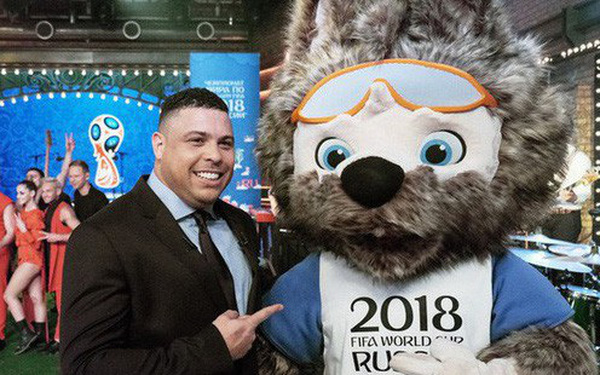 Sói Zabivaka - linh vật World Cup 2018 có gì đặc biệt khiến danh thủ Ronaldo không tiếc lời khen ngợi?