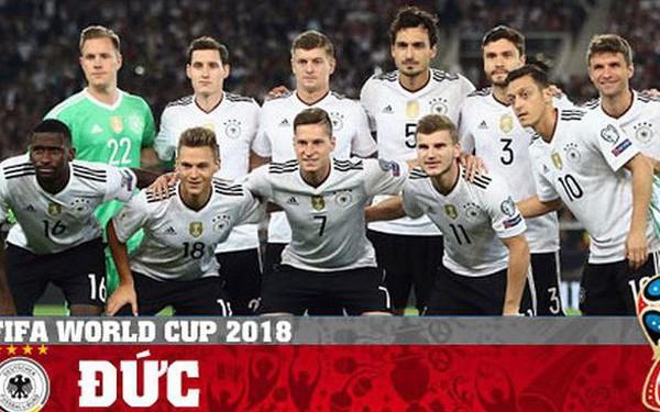 Đây là lý do khiến Đức khó vô địch World Cup 2018