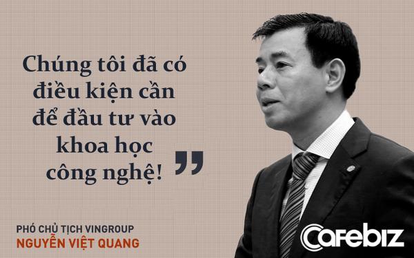 CEO Vingroup kể chuyện làm điện thoại Vsmart: Chúng tôi đã có điều kiện cần để đầu tư vào khoa học công nghệ!