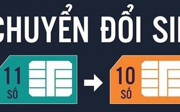 Hà Nội chuyển đổi thuê bao di động về 10 số từ 15/9