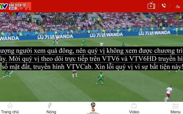 Không xem được World Cup qua truyền hình OTT, nhiều khán giả muốn đập tivi