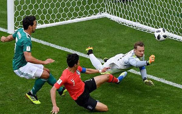 """""""Nghịch lý"""" to đùng khi Đức thảm bại trước Hàn Quốc, Mexico thua đau Thụy Điển"""