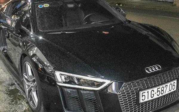 Audi R8 V10 Plus từng của ông chủ cafe Trung Nguyên sang tay đại gia Bạc Liêu