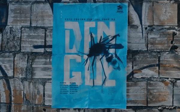 Chuyện thật như đùa: Poster tuyên truyền tan ra trong mưa để diệt trừ muỗi