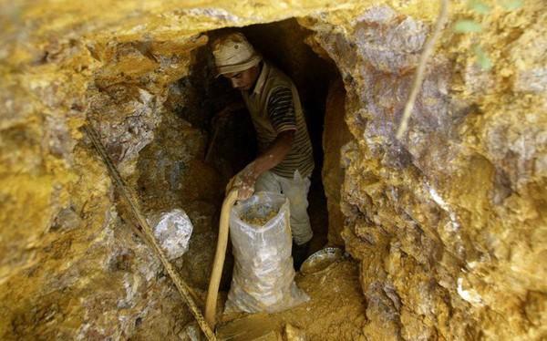 Con người đã khai thác gần cạn kiệt toàn bộ vàng trên thế giới