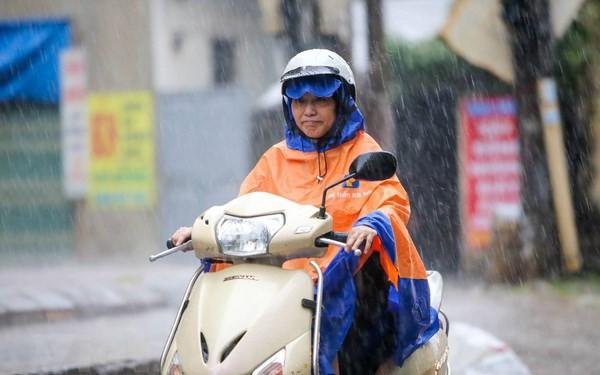 Bắc Bộ và Bắc Trung Bộ bắt đầu chuỗi ngày mưa lớn từ đêm nay