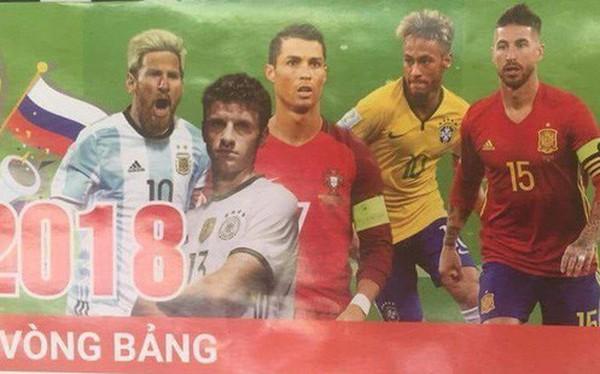 Hình ảnh hot nhất ngày: Lịch thi đấu điềm báo về thất bại của các đội bóng lớn tại World Cup, tiếp theo sẽ là Brazil?