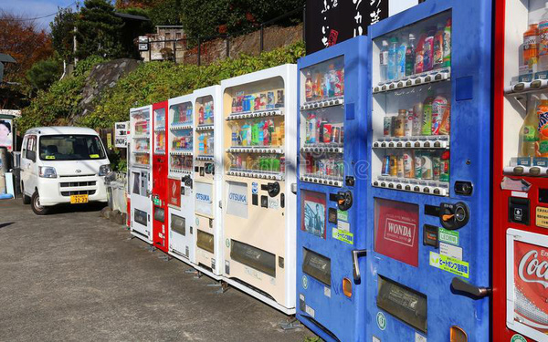 Vì sao máy bán hàng tự động được phổ biến tại Nhật Bản dễ hơn nhiều so với các quốc gia khác