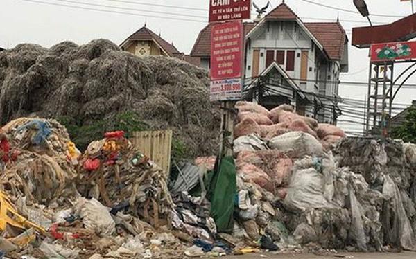 Làng tỷ phú nhờ... rác