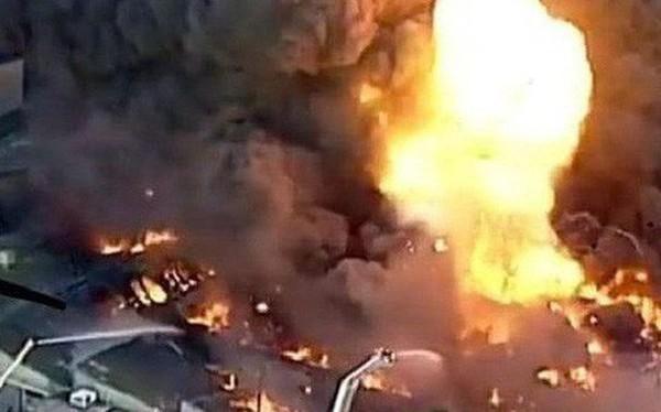 Australia: Cháy lớn sau nổ tại Melbourne, thành phố chìm trong khói độc