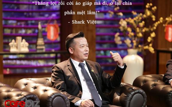 Quan điểm đầu tư của shark Việt: Chia tay nhau trong thành công, 'giống như Thánh Gióng thắng lợi rồi cởi áo giáp mà đi, ở lại chia phần mệt lắm!'