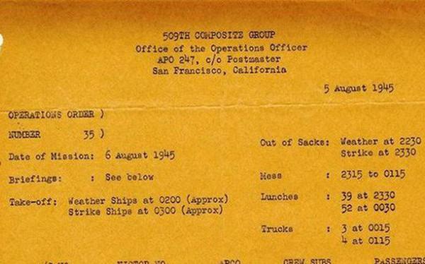 Tờ giấy 'chết chóc' cướp đi sinh mạng của hơn 140.000 người tại Hiroshima cách đây 73 năm