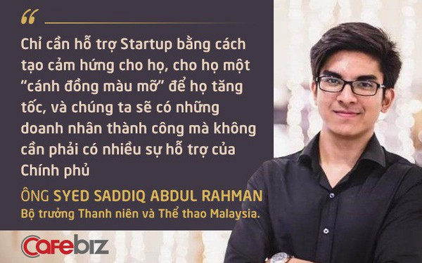 Bộ trưởng 9x từng 2 lần từ chối học bổng Oxford của Malaysia: KPI lớn nhất trong hỗ trợ khởi nghiệp tại nước tôi là cước phí Internet giảm 50%, còn tốc độ Internet phải nhanh gấp đôi