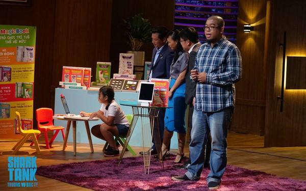 """Sản phẩm bị nhận xét """"chưa tới,"""" doanh thu """"quá tham vọng,"""" Startup đồ chơi vẫn nhận được 500.000 USD từ Shark Thủy"""