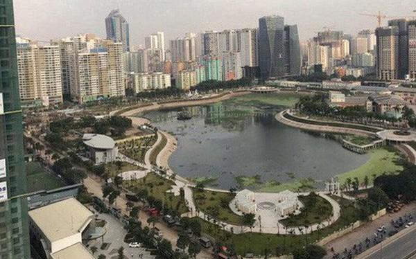 """Cận cảnh công viên gần 300 tỷ nằm trên """"đất vàng"""" tại Thanh Xuân - Hà Nội vừa mở cửa"""